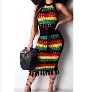 Jamaican Me Crazy Dress!